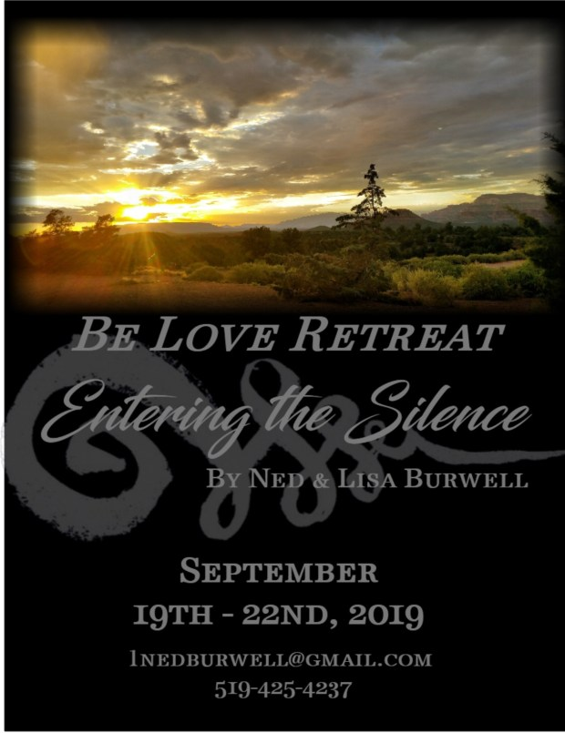 be love retreat flyer front