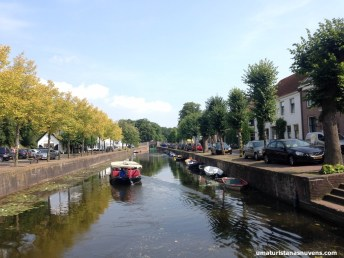 Canal em Naarden - Holanda