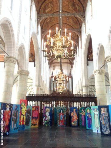 igreja gótica em Naarden - Holanda