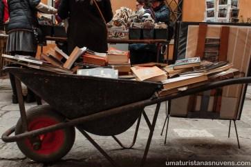 Livraria Acqua Alta em Veneza - Itália2