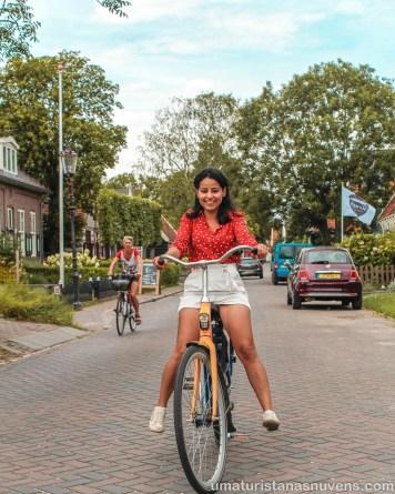 Andando de bike nos dias folga
