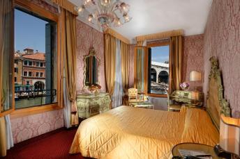 Onde ficar em Veneza - Hotel Rialto - quarto