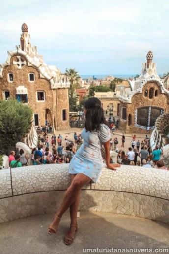 Viagens de 2018 - Barcelona - Parque Guell