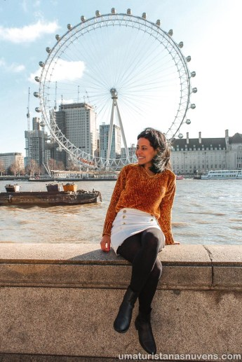 Viagens de 2018 - Londres - London Eye