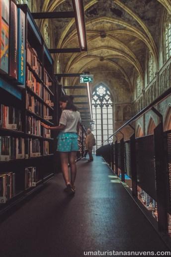 Selexyz Dominicanen - livraria na Holanda - Maastricht 7