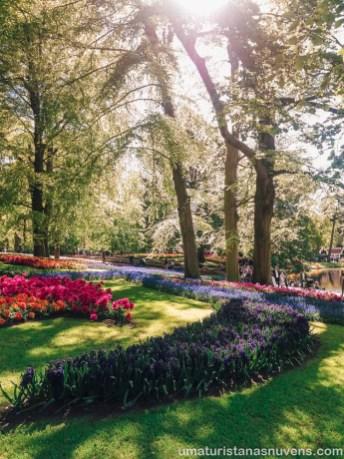Como visitar o Keukenhof - parque de flores na Holanda21