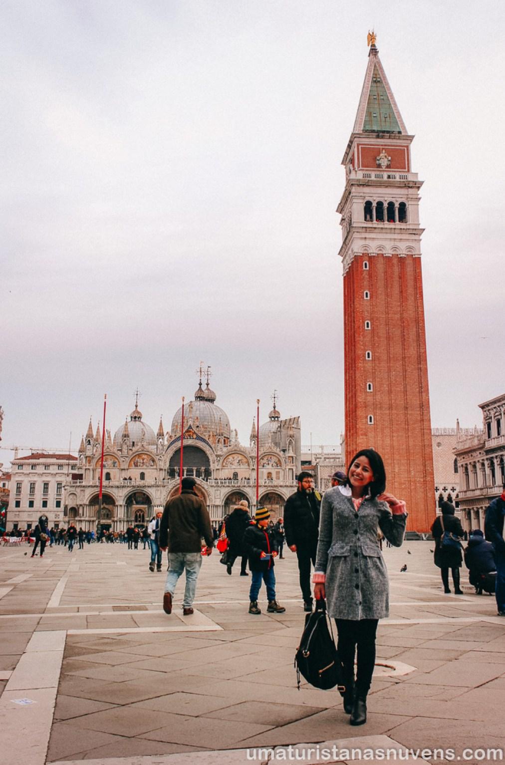 O que fazer em Veneza - Praça de São Marcos