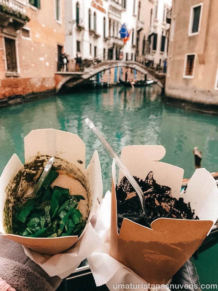 pratos típicos de Veneza