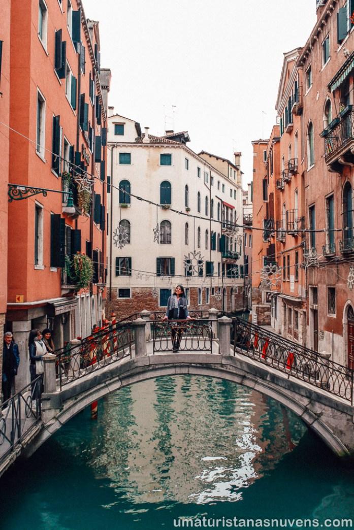 O que fazer em Veneza - pequenas pontes
