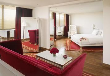 onde ficar em Buenos Aires - quarto do Hotel Faena