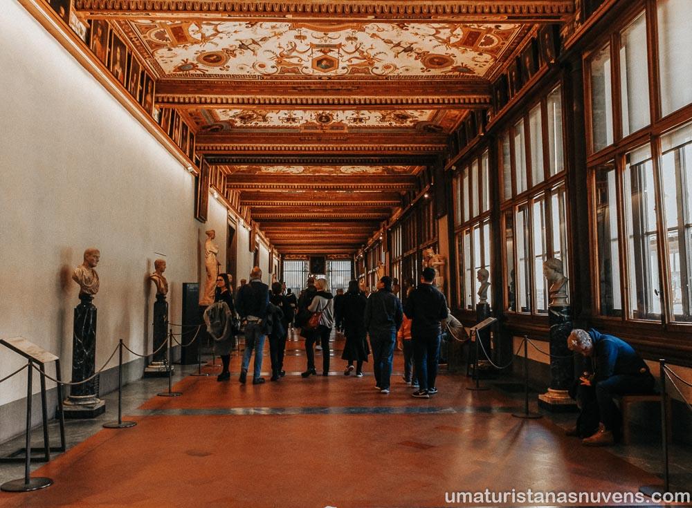 Galeria Uffizi - museu em Florença