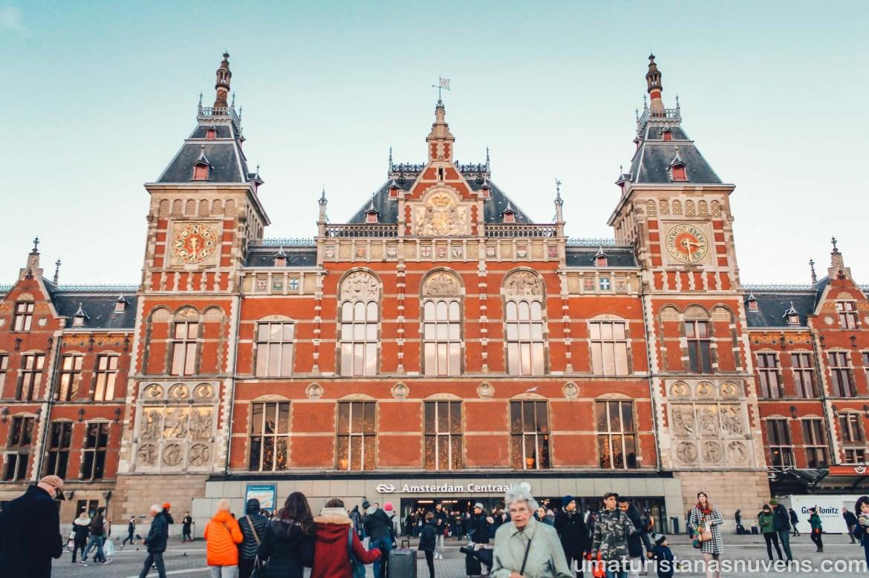 Estação Central de Amsterdam - Holanda