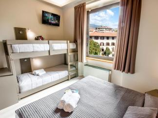 Onde ficar em Florença - quarto Hostel Plus Florence