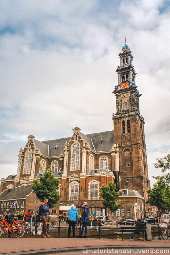 Igreja Westerkerk em Amsterdam
