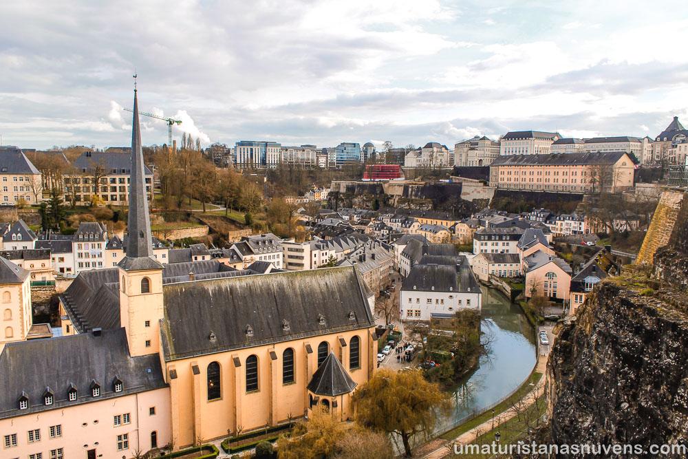 Chemin de la Corniche - a varada mais bela da Europa - motivos para visitar a Cidade de Luxemburgo