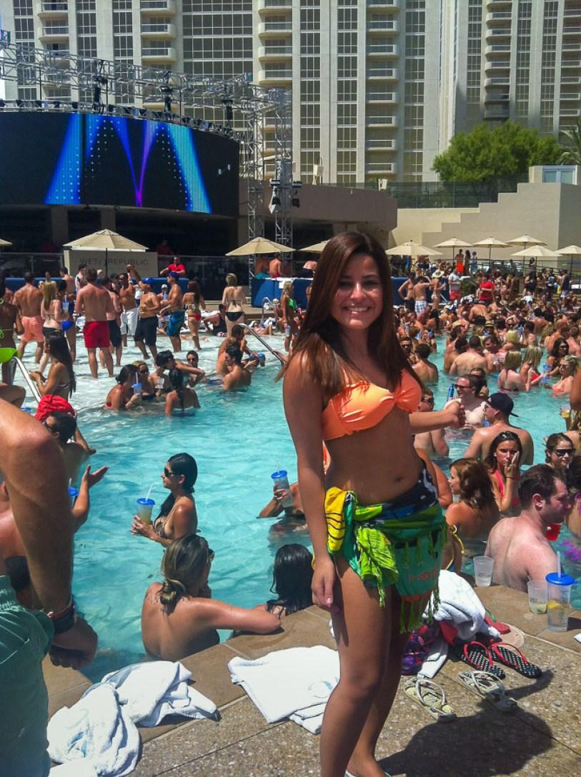 O que fazer em Las Vegas - pool party