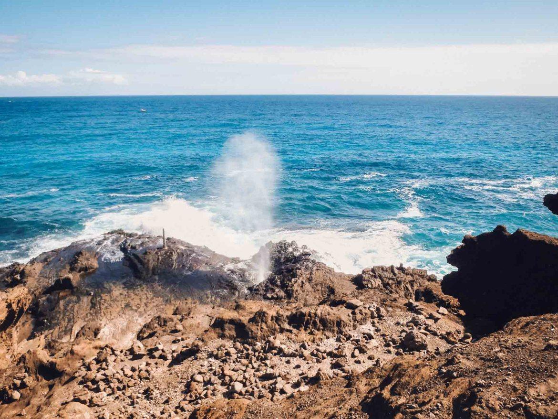 O que fazer em Oahu -Halona Blowlole
