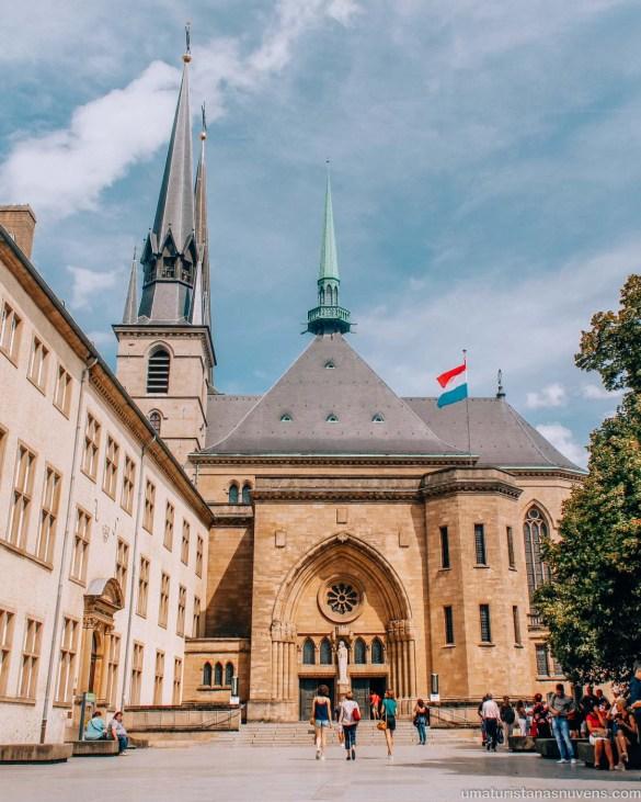 O melhor de Luxemburgo em 1 dia - o que fazer - igreja Notre Dame