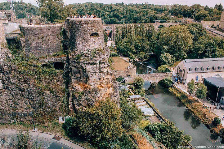 O melhor de Luxemburgo em 1 dia - o que fazer - casamatas de Bock