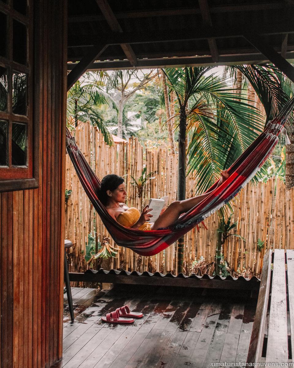 O que fazer em Florianópolis em 7 dias - onde ficar - chalé Airbnb