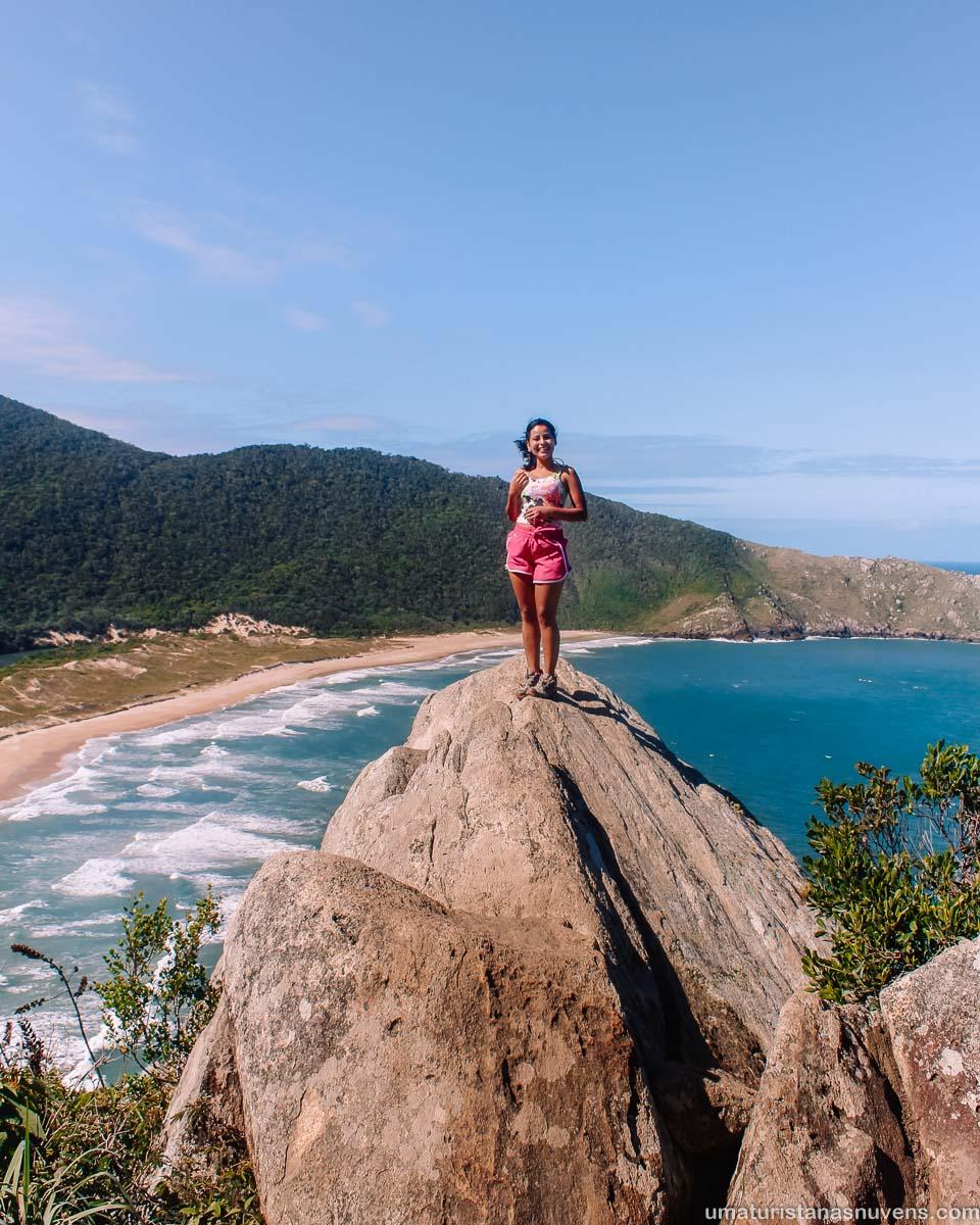 O que fazer em Florianópolis - roteiro - trilha Lagoinha do Leste