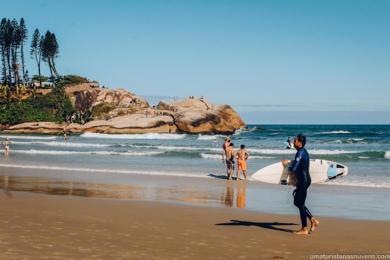 Praia da Joaquina em Florianópolis - roteiro de viagem