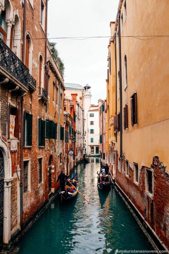 O que fazer em Veneza - passeio de gondola