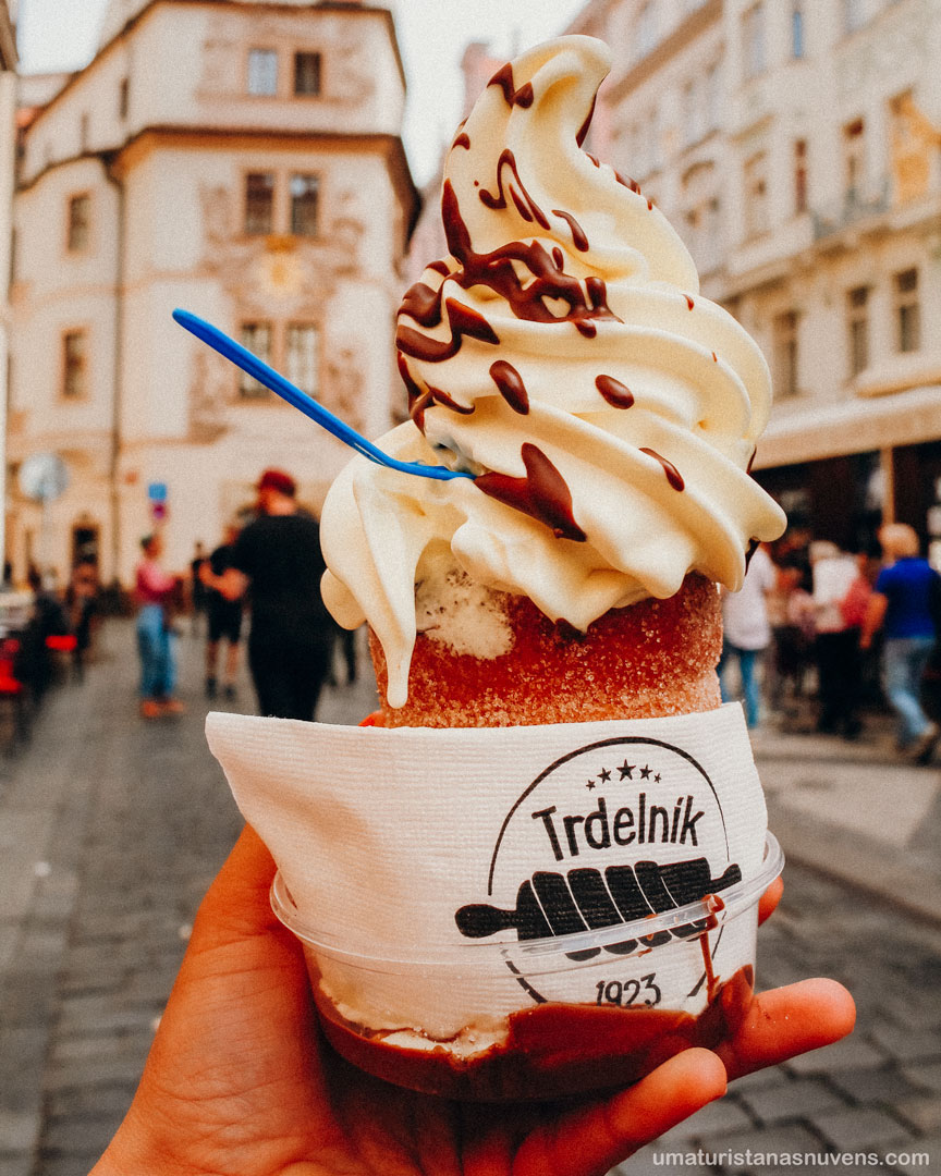 doces ao redor do mundo - trdelnik