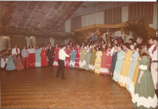 18 anos do coral, em 1982