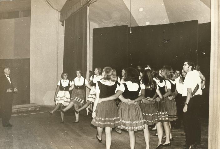 Apresentação na Fenac, em Novo Hamburgo 1966