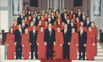Registro para o CD Oratório de Natal de Camille Saint-Saëns. Maestro Manfredo Schmiedt - 1994.