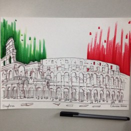 Sketch Colosseo