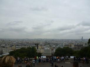 Vista da Basílica Sacre-Coeur