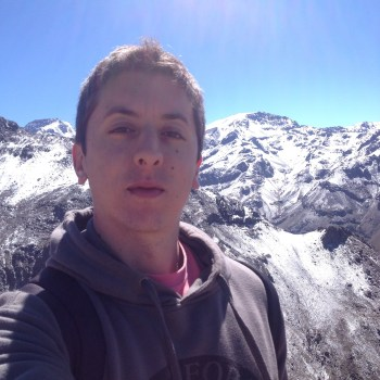 Selfie no Valle Nevado