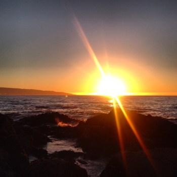 Por do Sol em Viña del Mar