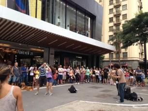 Dança na Avenida Paulista