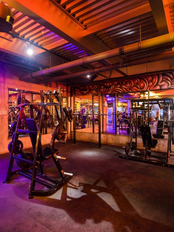 Warehouse Gym Umaya Lighting Design