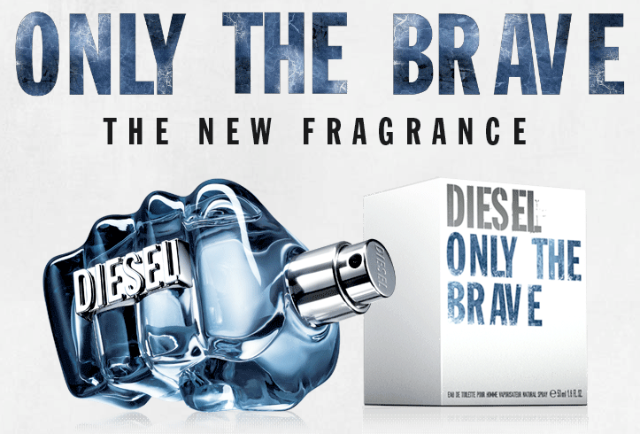 Only the brave, la nuova fragranza Diesel