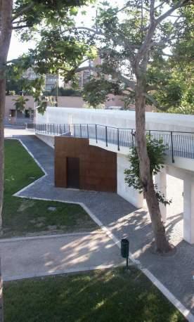 Muro dal parco