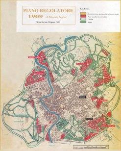 PRG di Roma del 1909