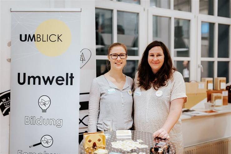Michaela Punz und Bianca Köck bei einem Re:Wien Event im Impact Hub