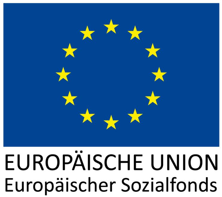 ESF Projekt Logo