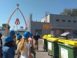 Exkursion zur Müllverbrennungsanlage