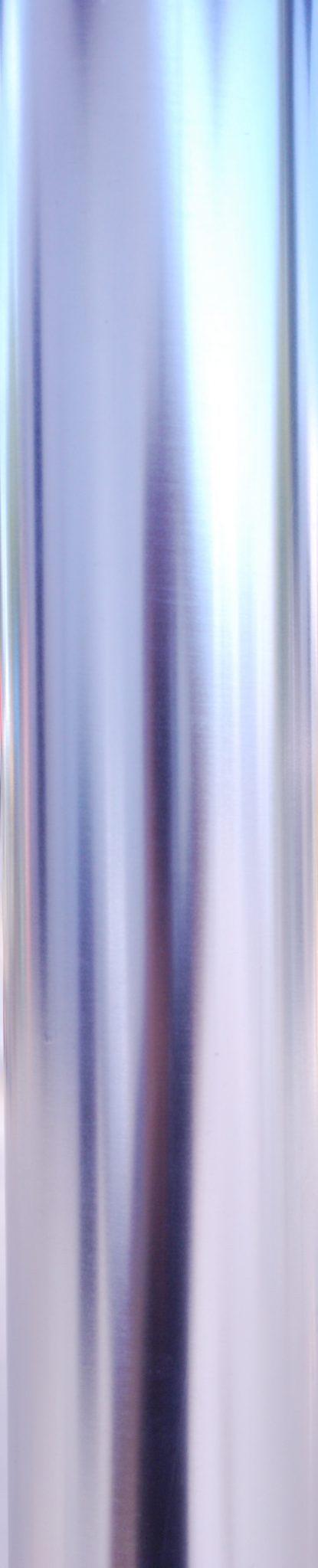 Galtech Silver Finish Pole