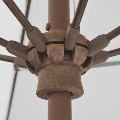 Galtech 636 9′ Round Umbrella hub