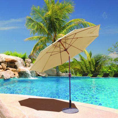 Galtech 636 9′ Round Umbrella