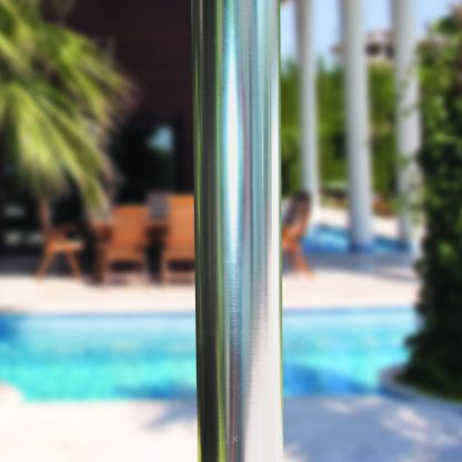 Single pole for for Galtech 722 7.5′ Round Deluxe Commercial Use Market Umbrella