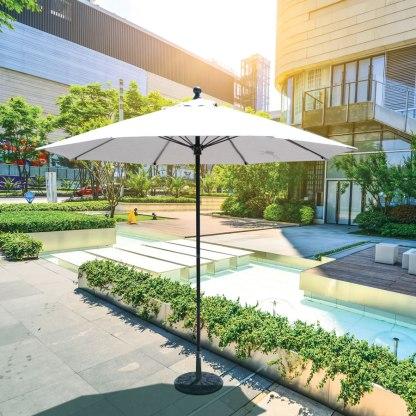 Galtech 735 9' Commercial Market Umbrella