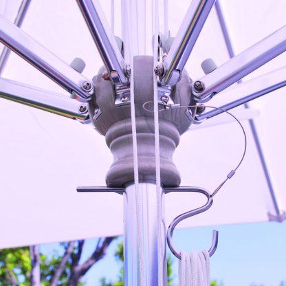 Hub for Galtech 792 10′ Square Deluxe Commercial Market Umbrella