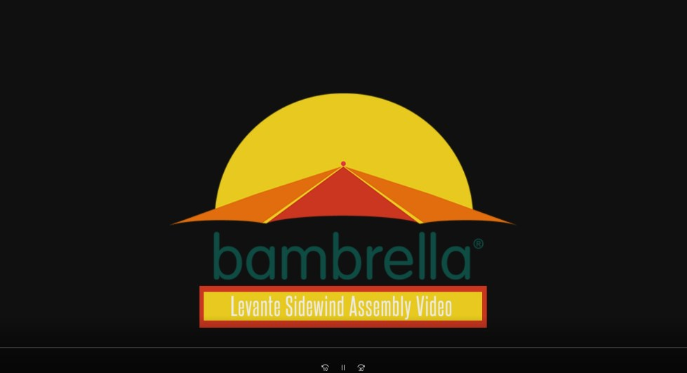 How to build a Bambrella Levante Umbrella